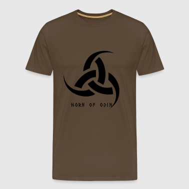 The Triple Horn Of Odin - Men's Premium T-Shirt