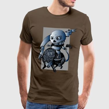Space Monster - Men's Premium T-Shirt