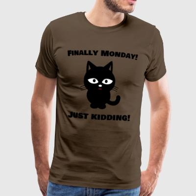 Finally Monday - Männer Premium T-Shirt