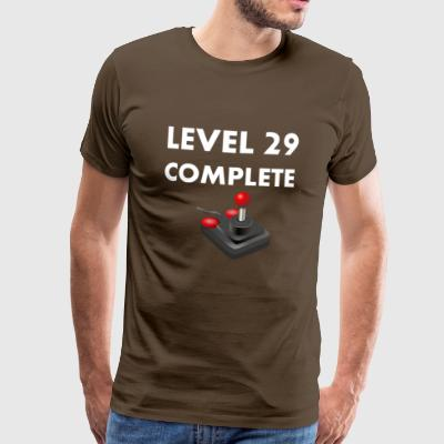 Level 29 Complete - 30th birthday - Men's Premium T-Shirt