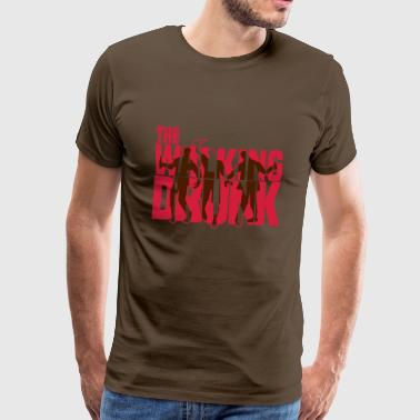 the walking drunk - Männer Premium T-Shirt