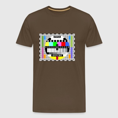 Testbild Display screen test card offline Big Bang - Männer Premium T-Shirt