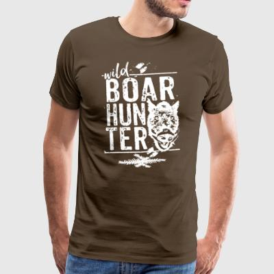 Wild Boar Hunter - Men's Premium T-Shirt