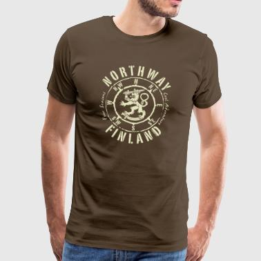 01-06 NORTHWAY KOMPASS FINLAND - Gift Items - Men's Premium T-Shirt