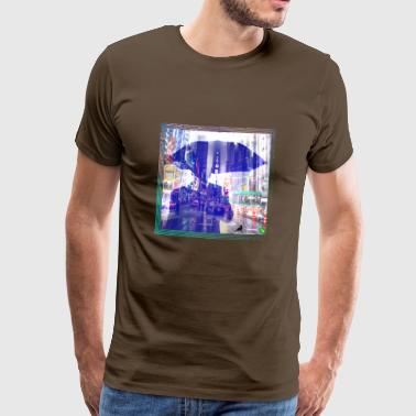 optiska illusioner - Premium-T-shirt herr