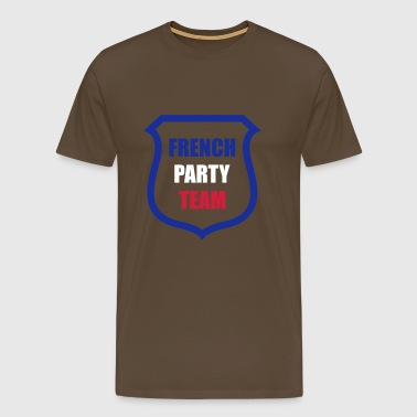 French Party Team - Men's Premium T-Shirt