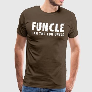 funcle fun uncle - Men's Premium T-Shirt