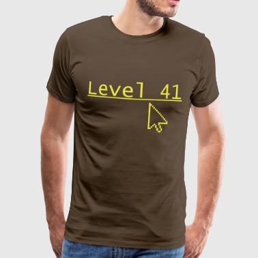 Level 41 - Men's Premium T-Shirt