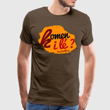 Collection  Komen i lé ?  - T-shirt Premium Homme