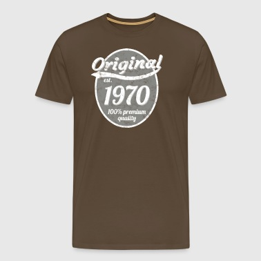 1970 - Premium T-skjorte for menn