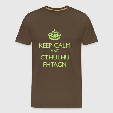 Cthulhu Fhtagn - T-shirt Premium Homme