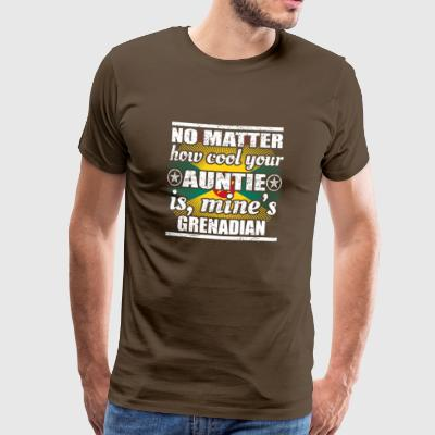 no matter cool auntie tante gift Grenada png - Männer Premium T-Shirt