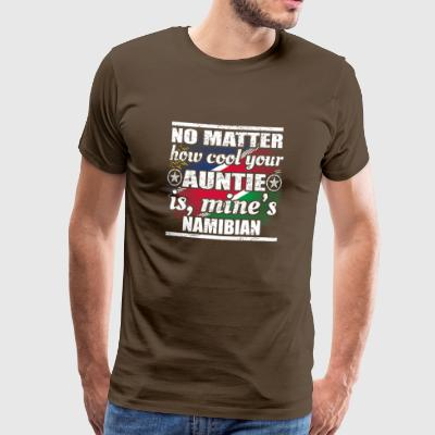 no matter cool auntie tante gift Namibia png - Männer Premium T-Shirt