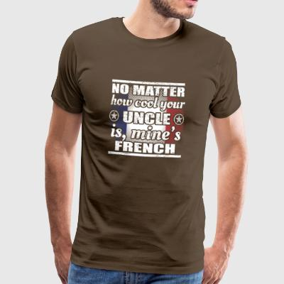 no matter cool uncle uncle poison France png - Men's Premium T-Shirt