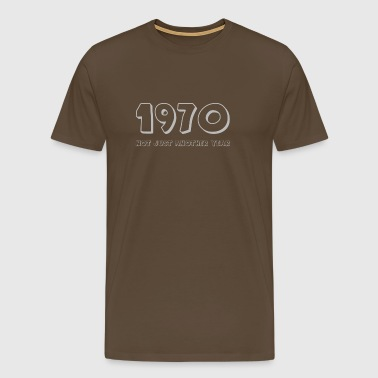 not just another year 1970 - Mannen Premium T-shirt