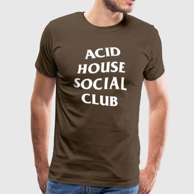 Acid House Social Club - Premium-T-shirt herr