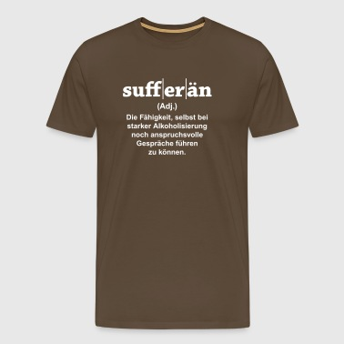 Sufferän - Männer Premium T-Shirt