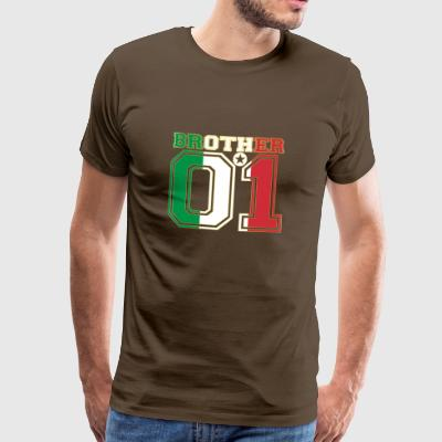 brother brother brother 01 partner Italy - Men's Premium T-Shirt