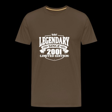 Legendary since 2001 - Men's Premium T-Shirt
