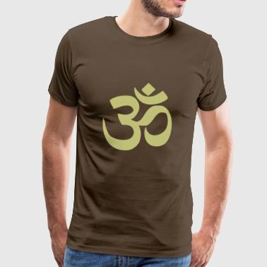 om olive light - Men's Premium T-Shirt