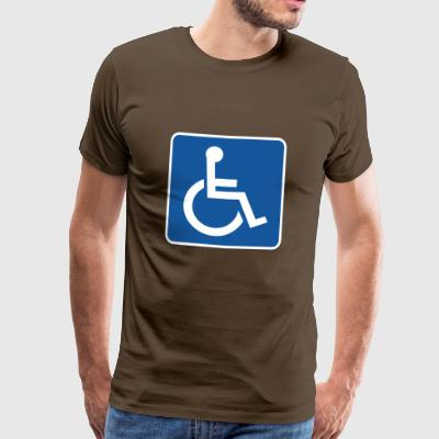 wheelchair - Men's Premium T-Shirt