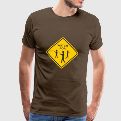 Watch for nerds - Men's Premium T-Shirt