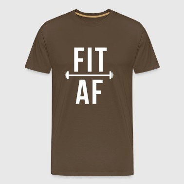 Fit as fuck - Gym motivation - Bodybuilding - Men's Premium T-Shirt