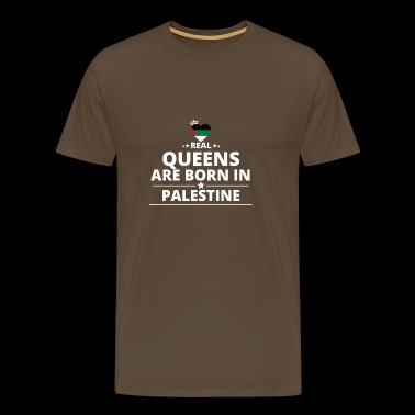 queens from gift i love PALESTINE PALESTINA - Men's Premium T-Shirt
