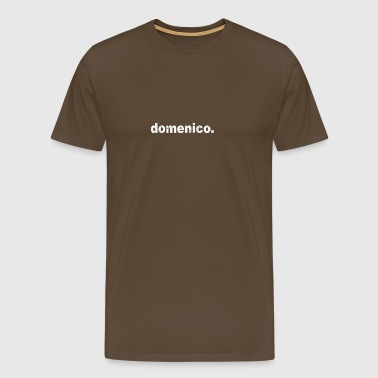Gift grunge style first name domenico - Men's Premium T-Shirt