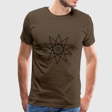 decagram - Men's Premium T-Shirt