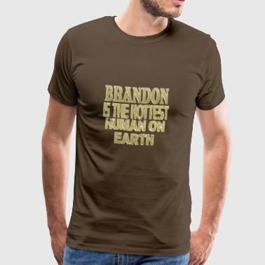 Brandon - Premium T-skjorte for menn