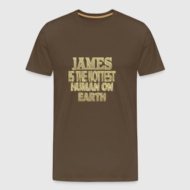 James - Premium T-skjorte for menn