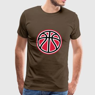 Basketball ball - Männer Premium T-Shirt