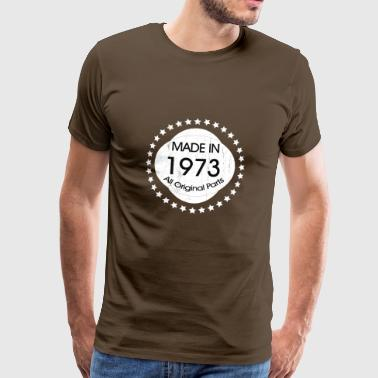 Made in 1973 All Original Parts - Men's Premium T-Shirt