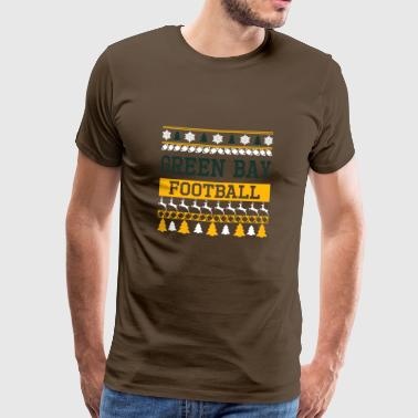 Ugly Sweater Green Bay - Premium-T-shirt herr