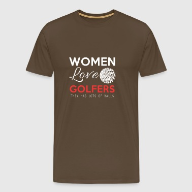 Golf Women Golf Course Gift - Men's Premium T-Shirt