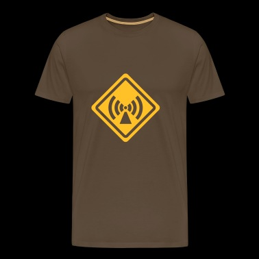 sign radio - Premium-T-shirt herr