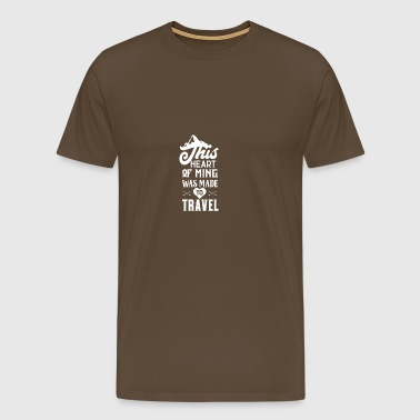Travel Travel - Men's Premium T-Shirt