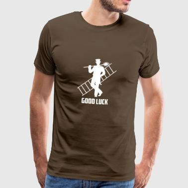 Good Luck Chimney Sweeper gave - Herre premium T-shirt