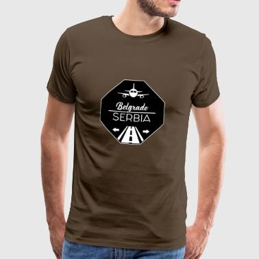 Belgrade, Serbia - Men's Premium T-Shirt