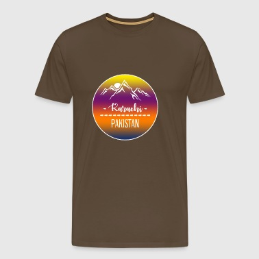 Karachi Pakistan - Men's Premium T-Shirt