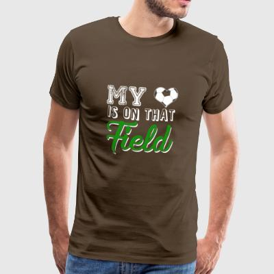 My Heart Is On The Soccer Field - Men's Premium T-Shirt