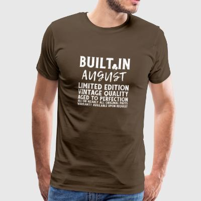 BUILT IN AUGUST - LIMITED EDITION... - Männer Premium T-Shirt