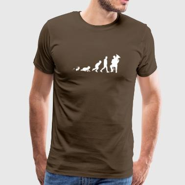 Shirt Gifts Tuba Fun Grow Evolution - Mannen Premium T-shirt