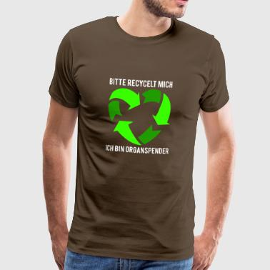 Please recycle me - Männer Premium T-Shirt