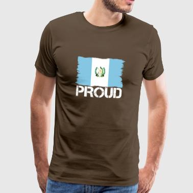 Pride flag flag home origin Guatemala png - Men's Premium T-Shirt