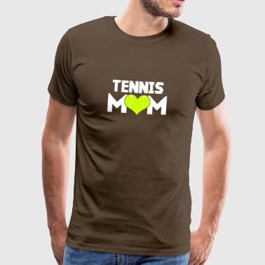 Tennis Mom Design Gift - Men's Premium T-Shirt