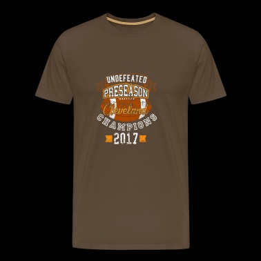 Undefeated Preseason Cleveland Champions Football - Men's Premium T-Shirt