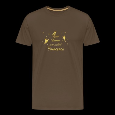 fairy fairies fairy first name Francesca - Men's Premium T-Shirt