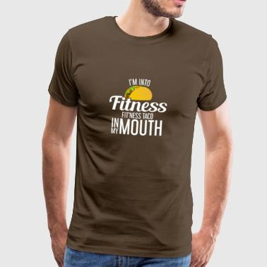 FIT'NESS TACO - FITNESS - FUNNY - TACO - SPORT - Men's Premium T-Shirt